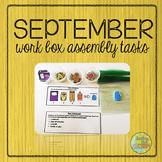 September Work Box Assembly Tasks