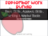 September Mega Work Pack for Students with Autism
