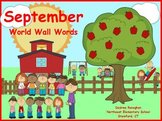September World Wall Words