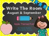 September Write The Room