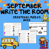 September Write the Room