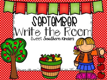 September Write the Room Activities