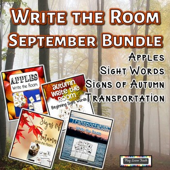 September Write the Room Bundle