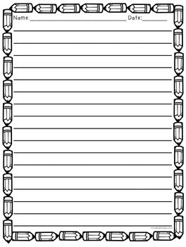 September Writing {Printable Journal & Activities}