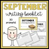 September Writing Booklet