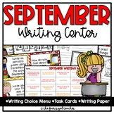 September Writing Center