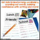 September Writing Activity: Brainstorming Organizer & List Making Pages