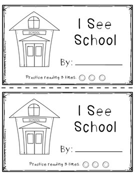 Kindergarten Writing Center - Little Books For Little Readers and Writers