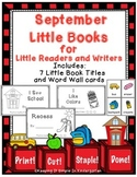 Kindergarten Writing Center - Little Books For Little Readers and Writers