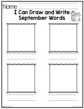 September Writing Center