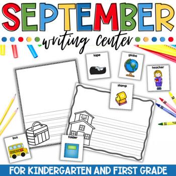 September Writing Center for Kindergarten