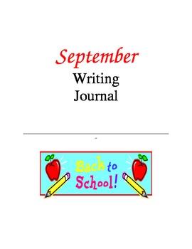 Writing Journal, September