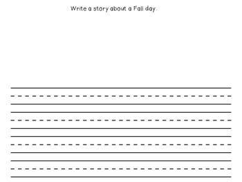 September Writing Activities / September Writing Journal