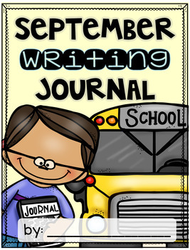 September Writing Journal {3 levels of differentiation]
