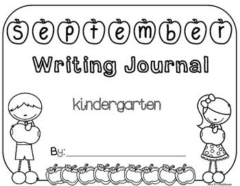 September Writing Journal Cover