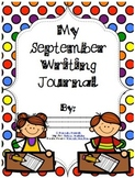 September Writing Journal Cover Color/Black and White