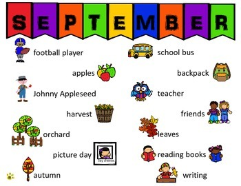 September Writing Journal Prompts, Lists, Story Starters & Lined Paper