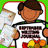 September Writing Journal Prompts for Preschool and Kindergarten
