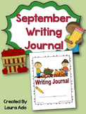 September Writing Journal with Common Core State Standard Prompts
