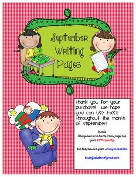 September Writing Pack