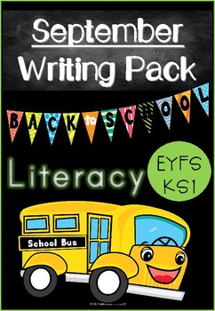 September Writing Pack for Emergent Writers