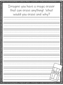 September Writing Prompt Journal