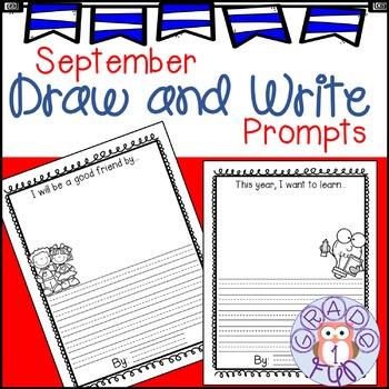 September Draw and Write Prompts