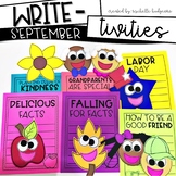 September Writing Prompts | Back to School Activities | Ap