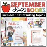 September Writing Prompts & Class Book Covers