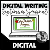 September Writing Prompts (Digital)