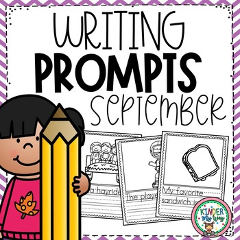 Preschool Writing Prompts September