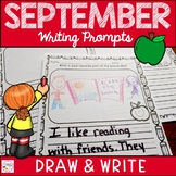 September Writing Prompts Primary