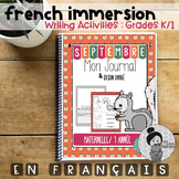 Septembre - French Writing Prompts - Maternelle