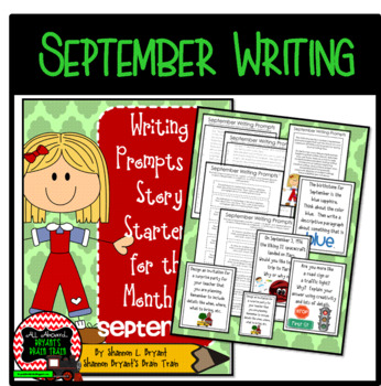 Bell Ringer September Writing Prompts and Story Starters