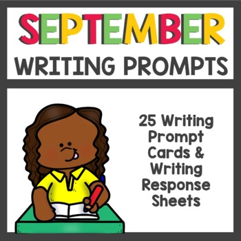 September Writing Prompts / Back to School