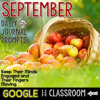 September Writing Prompts for Google Drive