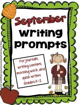 September Writing Prompts for Journals and More!