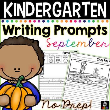 September Writing Prompts for Kindergarten