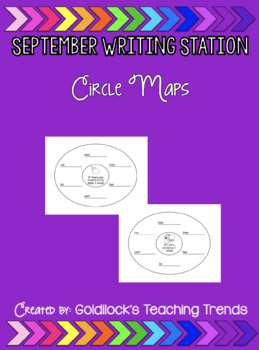 September Writing Station Circle Maps