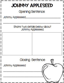 September Writing with Page Toppers...simple crafts and writing activities!
