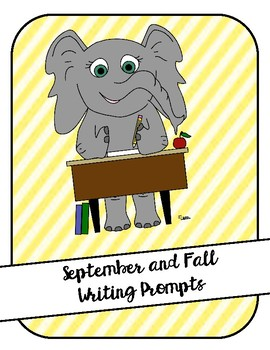 September and Fall Writing Prompts