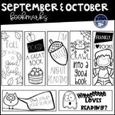 September and October Bookmarks