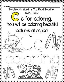 September in Preschool