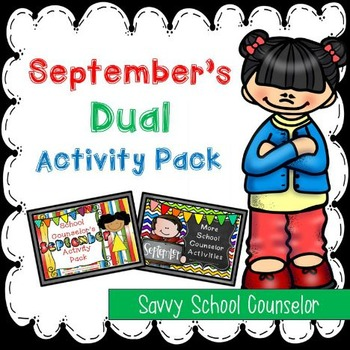 September's Dual School Counselor Activity Pack