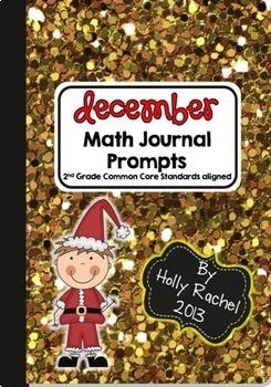 First Semester Math Journal Bundle Second Grade