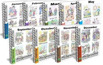 LESSON PLANS Curriculum Bundle [9 Months] Series 1