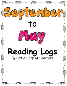 September to May Reading Logs