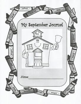 September writing journal