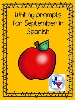 September writing prompts in Spanish