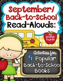 September/Back-to-School Read-Alouds: Comp. Skills and Writing Activities